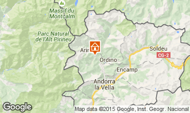 Map Pal-Arinsal Bed and breakfast 91046