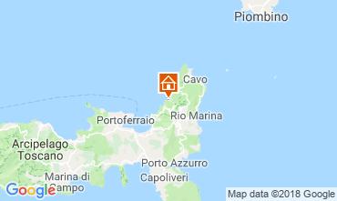 Map Rio nell'Elba Apartment 117213