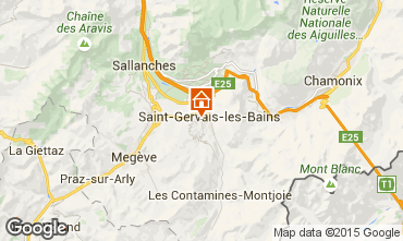 Map Saint-Gervais-les-Bains One-room apartment 86819