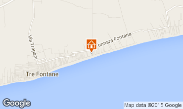 Map Tre Fontane Villa 95677