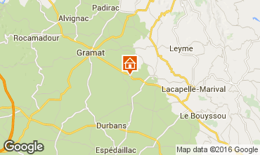 Map Rocamadour House 12347