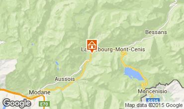 Map Termignon la Vanoise Apartment 3319