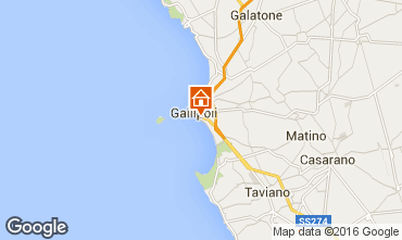 Map Gallipoli Apartment 70342