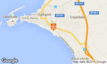 Map Gallipoli Apartment 70342