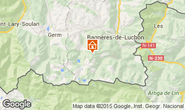 Map Luchon Superbagneres House 78046