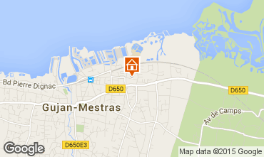 Map Gujan Mestras House 18048