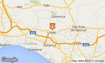 Map Quarteira Villa 58047