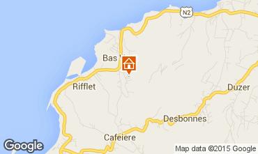 Map Deshaies Vacation rental 73814