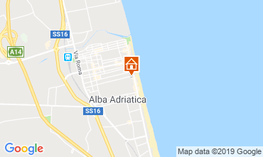 Map Alba Adriatica Apartment 118420