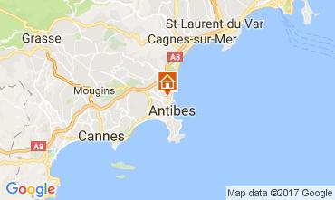 Map Antibes Villa 110758