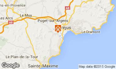 Map Saint Aygulf Mobile home 77592