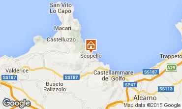 Map Scopello Villa 31625
