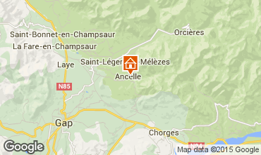 Map Ancelle Chalet 68591