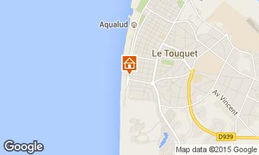 Map Le Touquet One-room apartment 30785