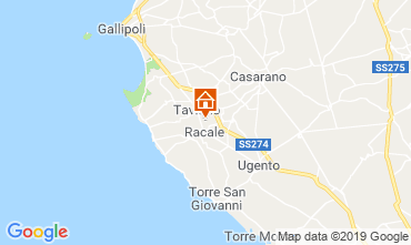 Map Gallipoli Villa 102473