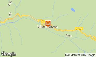 Map La Grave - La Meije Apartment 79479