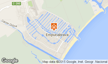 Map Empuriabrava Villa 92908