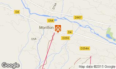 Map Morillon Grand Massif One-room apartment 90867