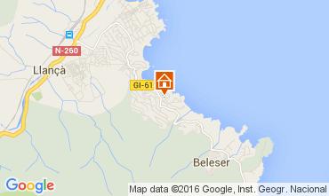 Map Llança Apartment 92855