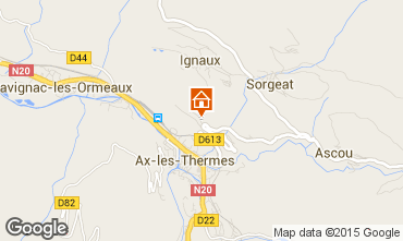 Map Ax Les Thermes House 65423