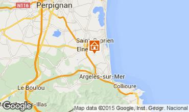 Map Argeles sur Mer House 31430