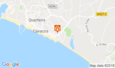 Map Quarteira Apartment 55180