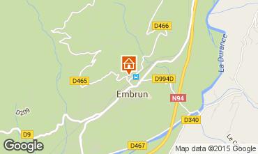 Map Embrun Apartment 55962