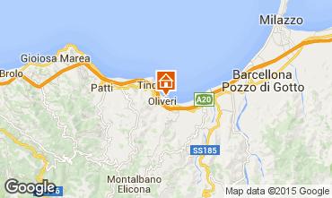 Map Oliveri Villa 78060