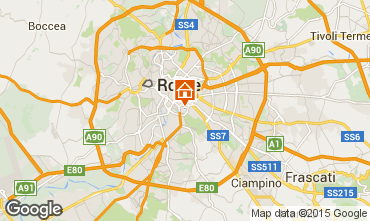 Map Rome One-room apartment 73429