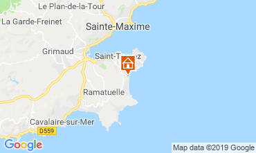 Map Saint Tropez Mobile home 113903