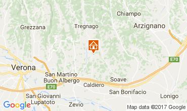 Map Verona Apartment 109262