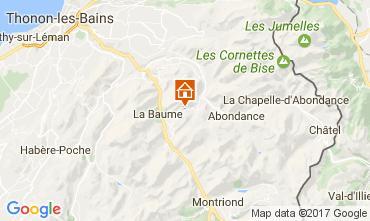 Map Abondance Chalet 38701