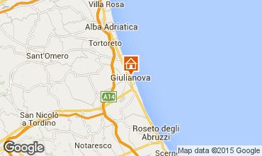 Map Giulianova Apartment 96791