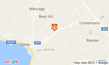 Map Garda Apartment 109976
