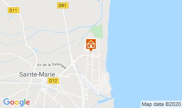 Map Sainte Marie la Mer House 51132