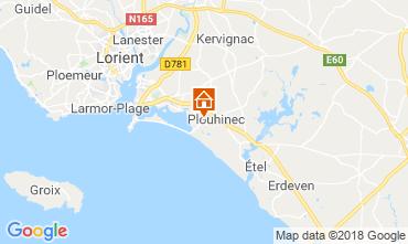 Map Quiberon Villa 117027