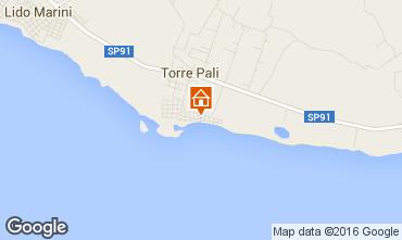 Map Torre Pali Apartment 102612