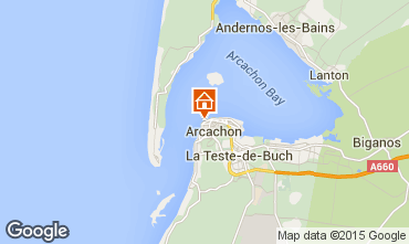 Map Arcachon Apartment 83194
