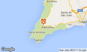 Map Sagres Bed and breakfast 87896