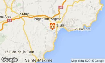 Map Saint Aygulf Mobile home 58302