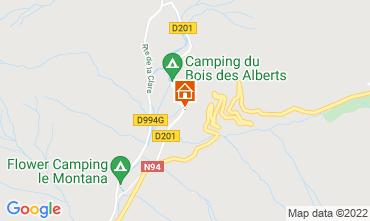 Map Montgenevre Chalet 59743