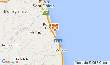 Map Porto San Giorgio Bungalow 103911