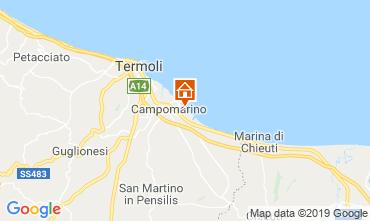 Map Campomarino Apartment 16514