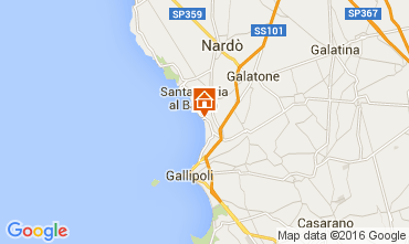 Map Gallipoli Apartment 105367