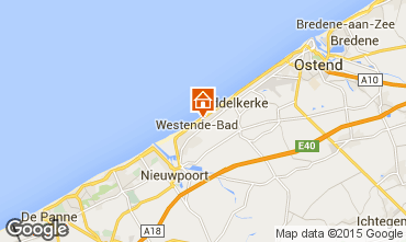 Map Middelkerke Bungalow 91436