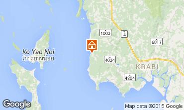 Map Krabi Vacation rental 32124