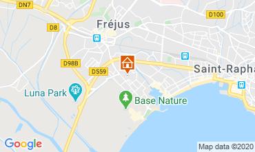 Map Fréjus Apartment 94526