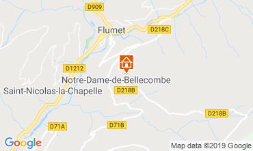 Map Notre Dame de Bellecombe Apartment 117966