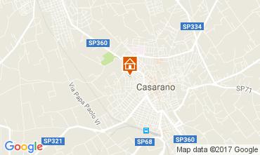Map Gallipoli Apartment 111086
