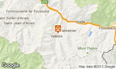 Map Valloire Apartment 97653
